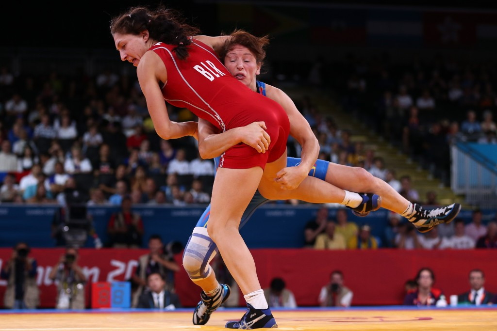 Only four of 18 medals at London 2012 were in women's wrestling