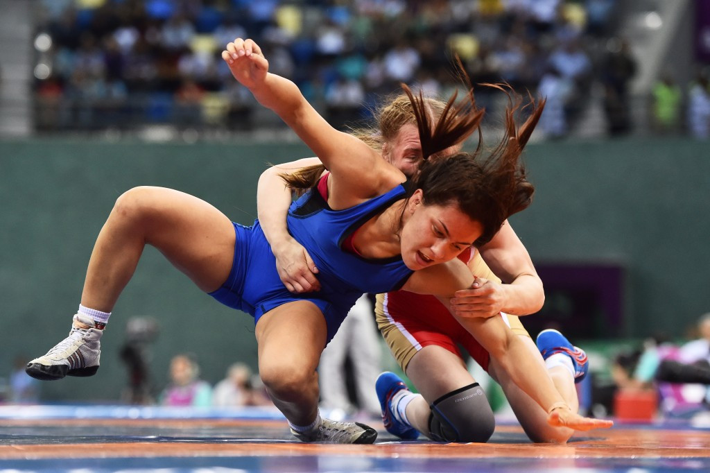 Wrestling is exploring the reintroduction of Greco-Roman contests for women ©Getty Images