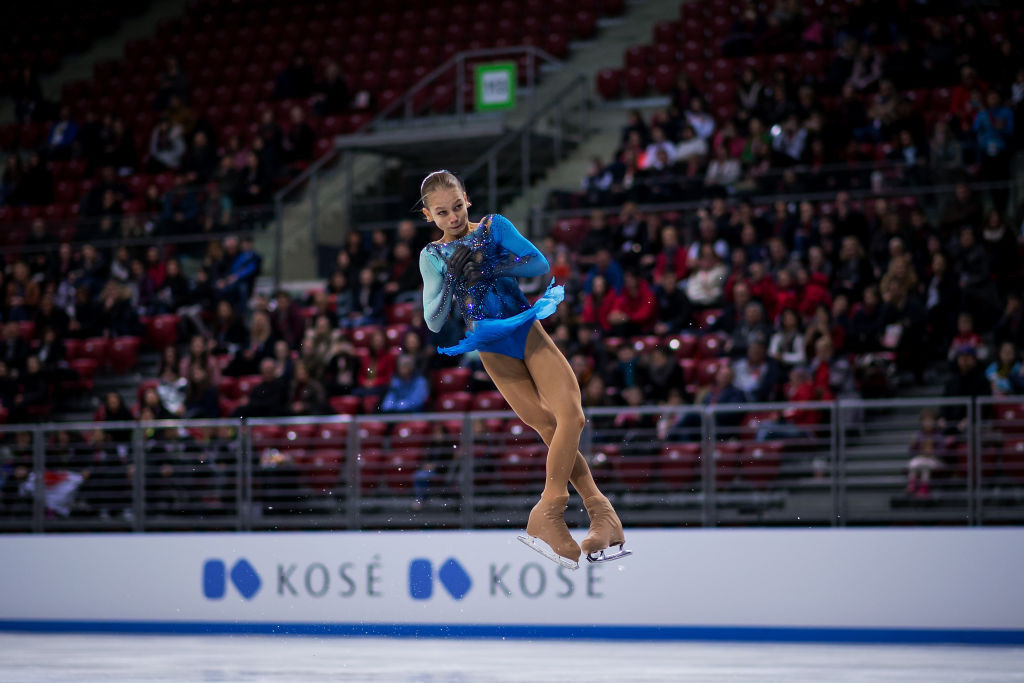 Trusova first to land two quad jumps as she takes ISU World Junior Skating  Championships in Sofia