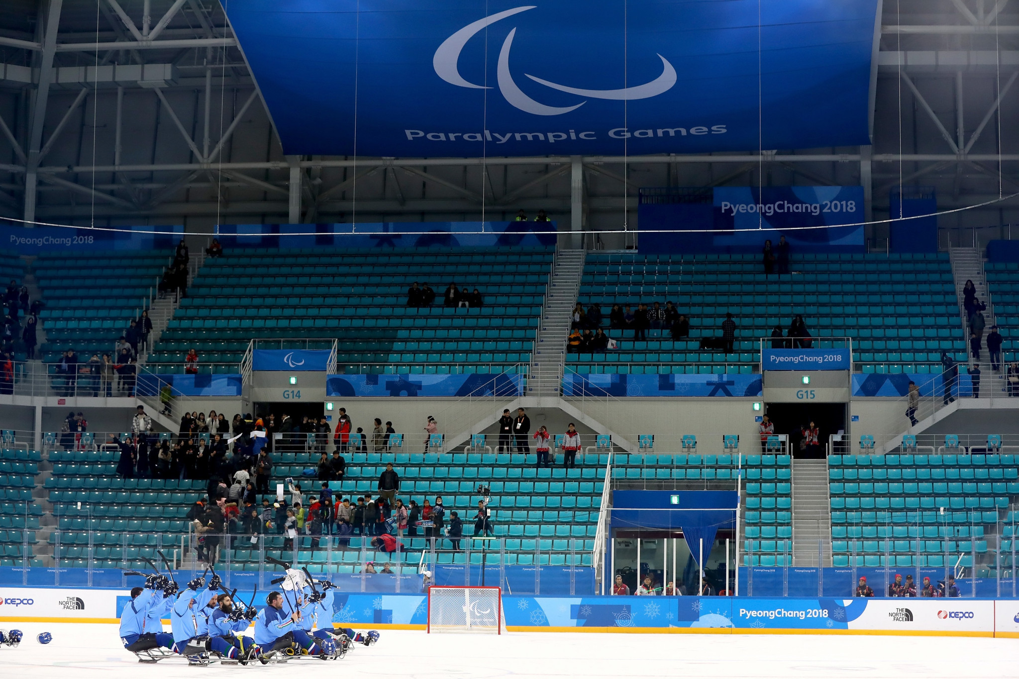 The number of no-shows at the Winter Paralympic venues, as of yesterday, stands at 51,067 0 or 27.7 per cent ©Getty Images