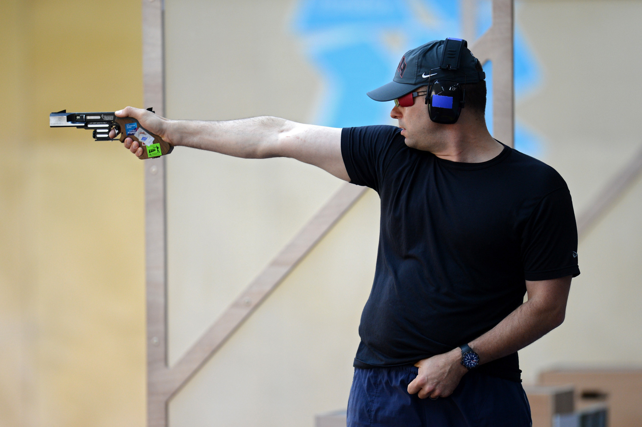 Keith Sanderson has been suspended by USA Shooting ©Getty Images