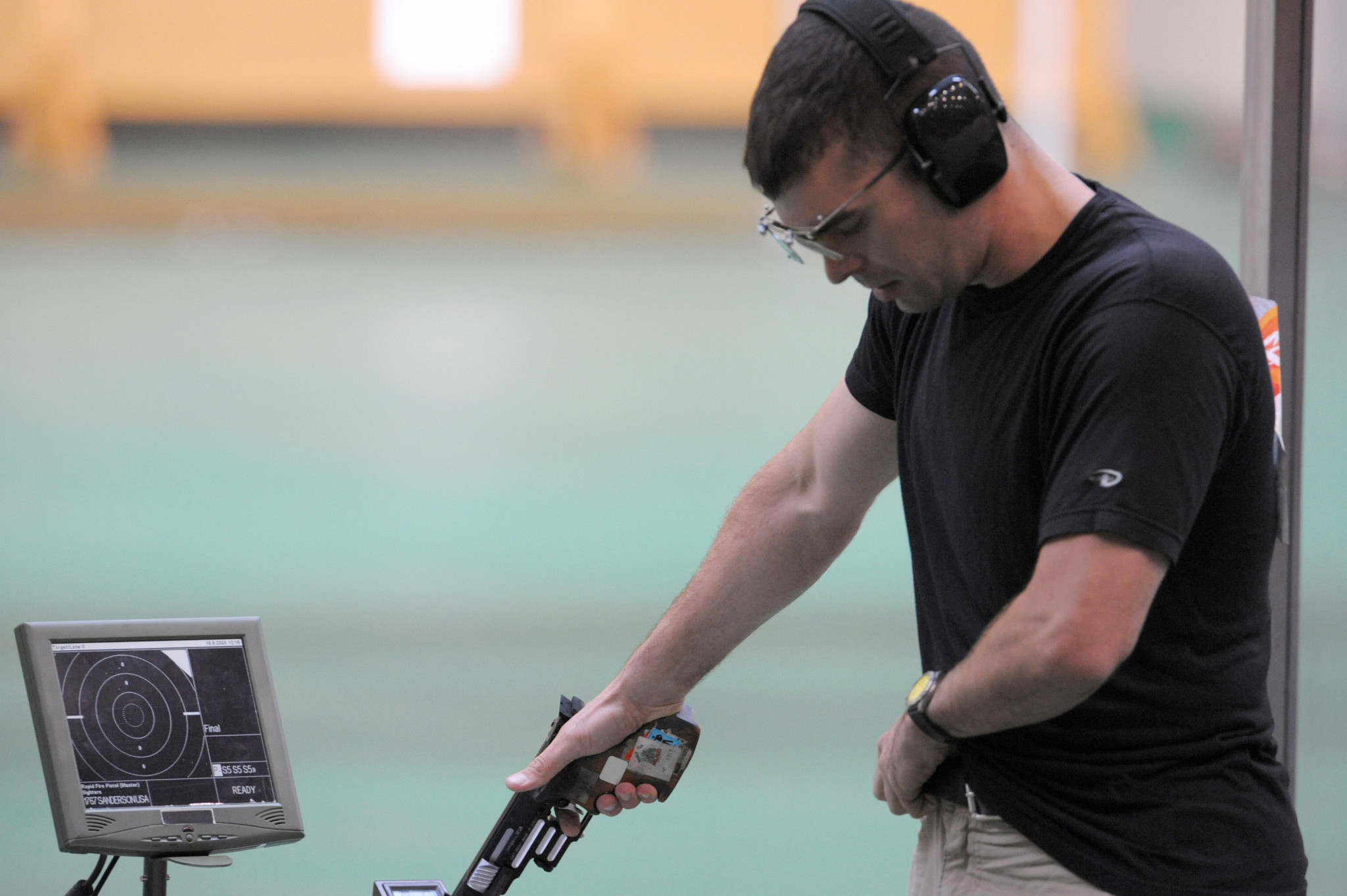 USA Shooting have rejected Keith Sanderson's claims that the suspension followed his interview criticising USOC ©Getty Images