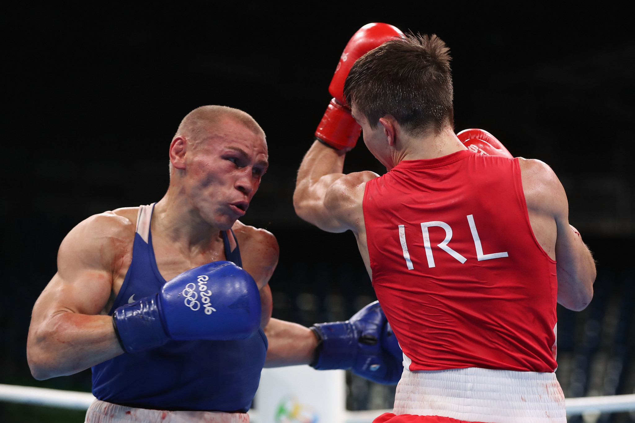 The bout lost by Michael Conlan, right, was one of many controversial fights at Rio 2016 ©Getty Images