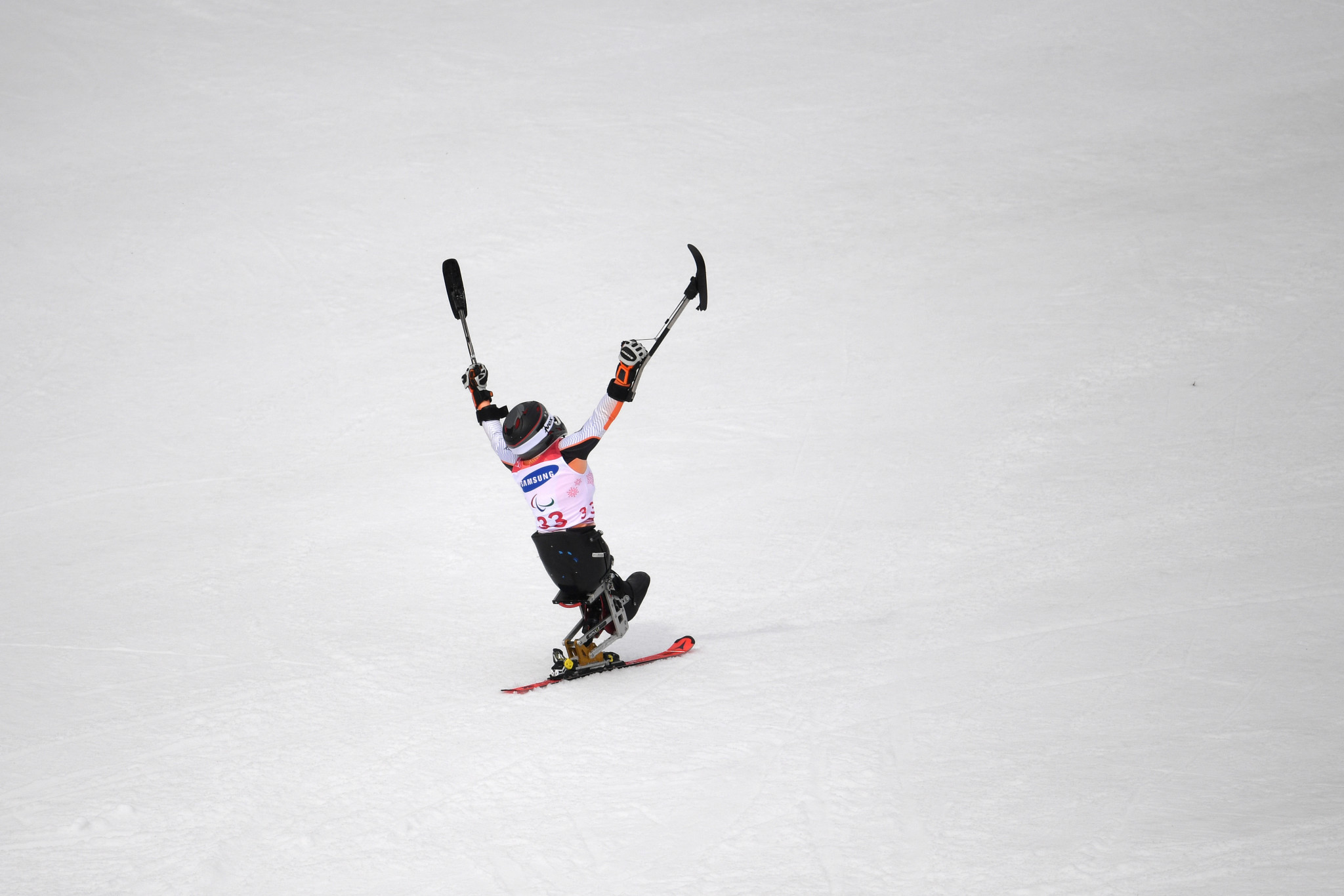 Germany's Anna-Lena Forster won her first-ever Paralympic title on the last day of Pyeongchang 2018 ©Getty Images