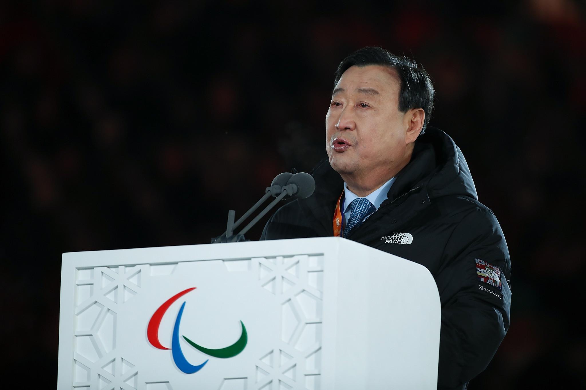 Pyeongchang 2018 President among six recipients of Paralympic Order