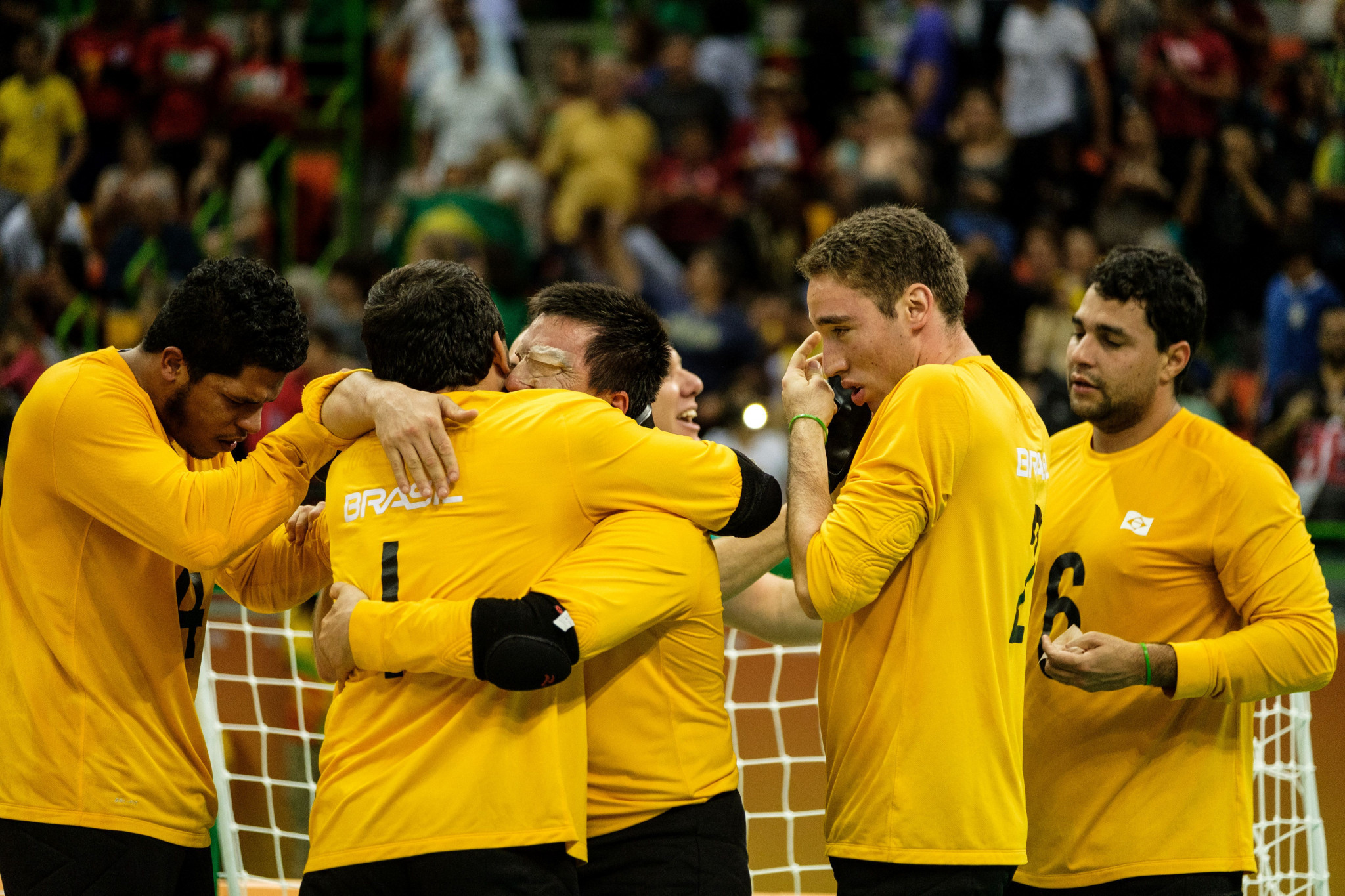 Brazil will hope to defend their men's title in Malmo ©Getty Images
