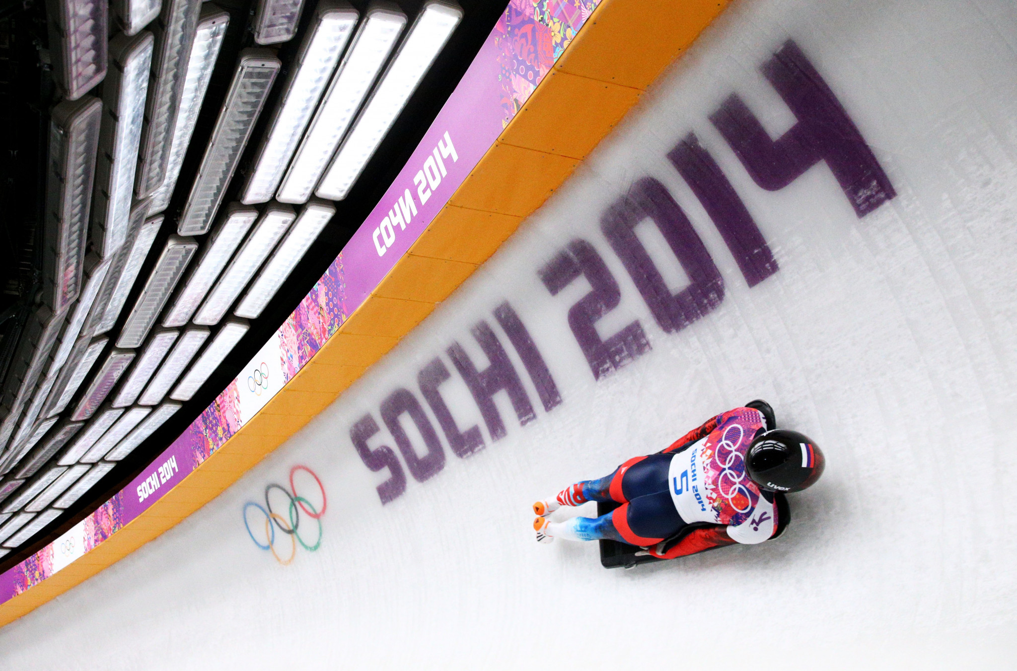 Aleksander Tretiakov, winner of the Olympic skeleton men's gold medal at Sochi 2014, was among the Russian athletes cleared last month by the Court of Arbitration for Sport ©Getty Images