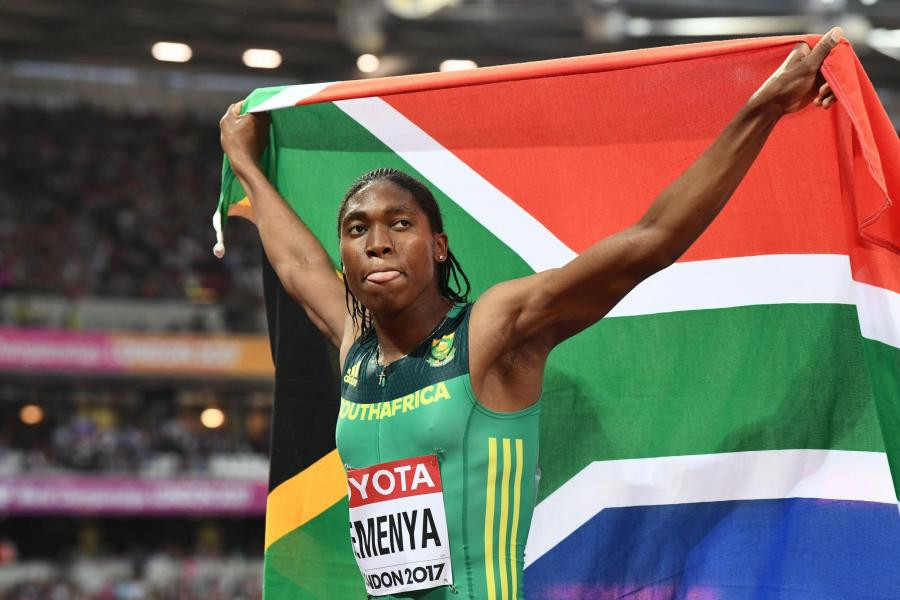 Caster Semenya has been chosen to carry South Africa's flag at the Opening Ceremony of the 2018 Commonwealth Games in the Gold Coast ©Getty Images