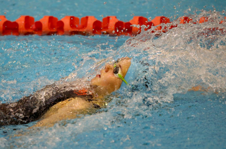 Gichard strikes Samoa 2015 gold at expense of compatriot Fa'amausili on opening night of swimming finals