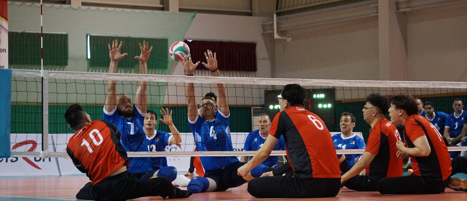 South Korea recorded their third victory of the competition in Jeju ©World ParaVolley/Facebook