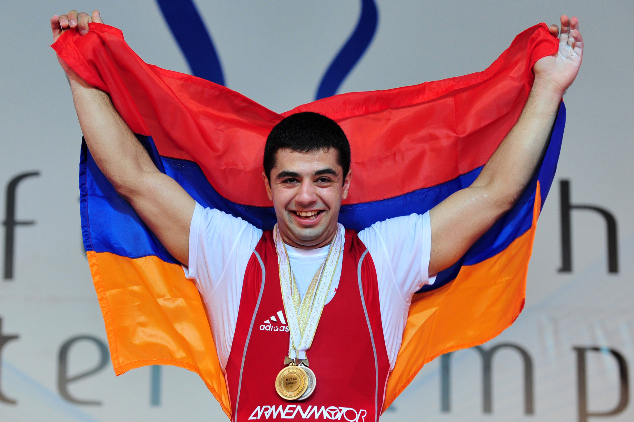 Armenia's Tigran G Martirosyan has also lost an Olympic medal ©Getty Images