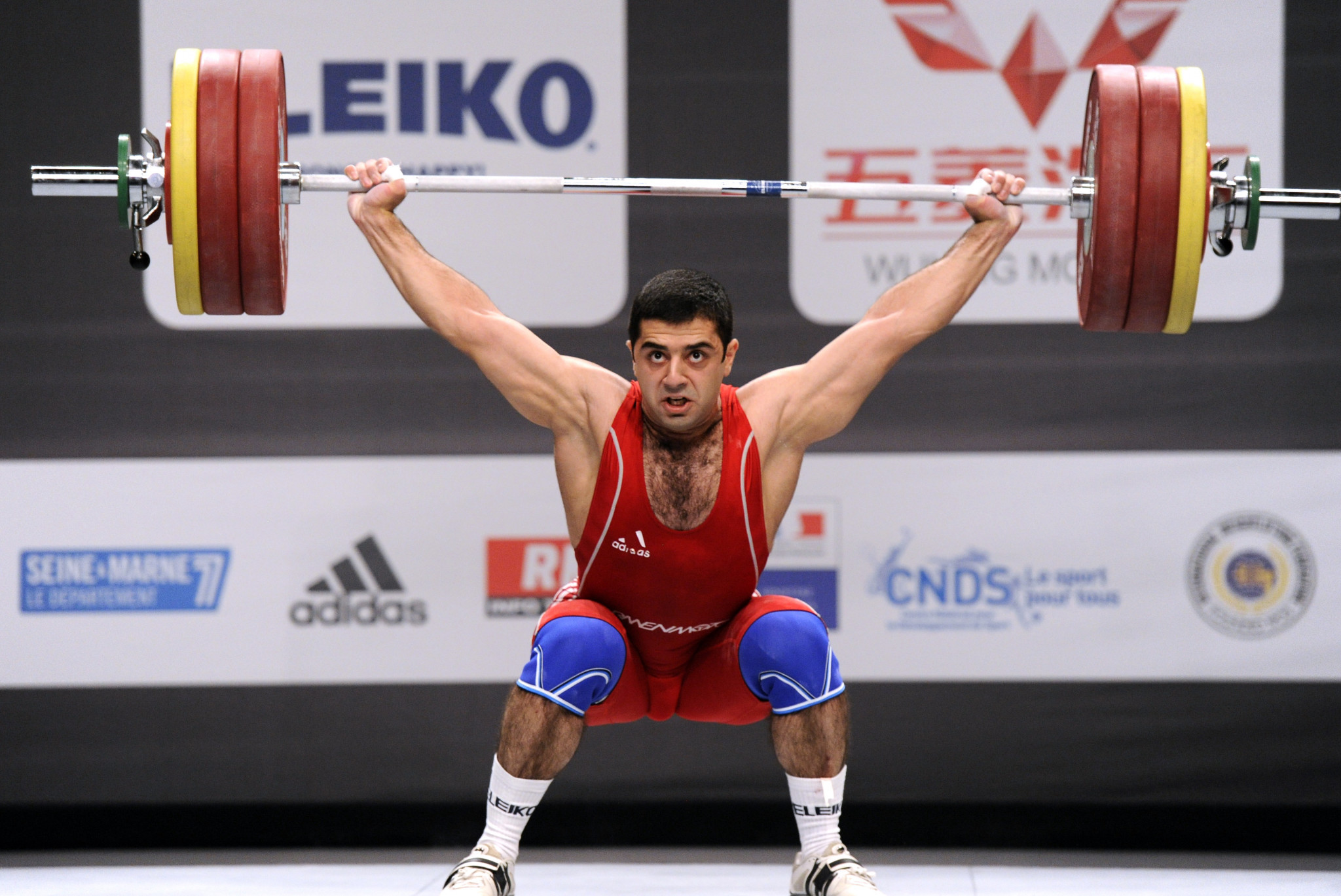 Armenia are one of nine nations currently banned by the IWF ©Getty Images