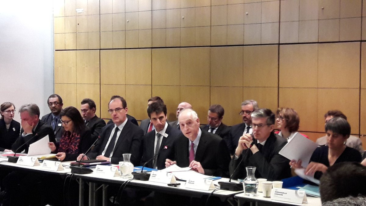Olympic and Paralympic Equipment Delivery Corporation, established to coordinate the infrastructures necessary to host Paris 2024, held its first meeting in the French capital today ©Twitter