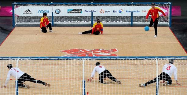 Goalball UK claim there are double the number of clubs since London 2012 ©IPC