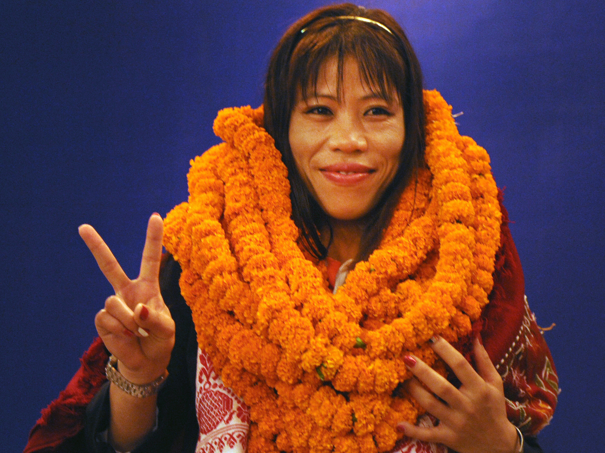 Five-time world champion Mary Kom is among members of the Indian boxing team at Gold Coast 2018, although there is no suggestion she has done anything wrong ©Getty Images