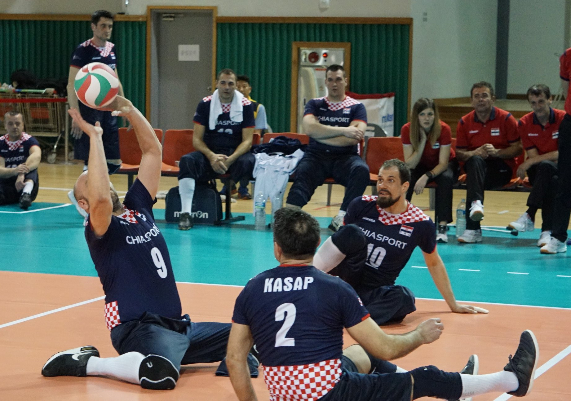 Croatia secured their place at the 2018 Sitting Volleyball World Championships on the final day of the qualifying tournament in Jeju ©World ParaVolley/Facebook
