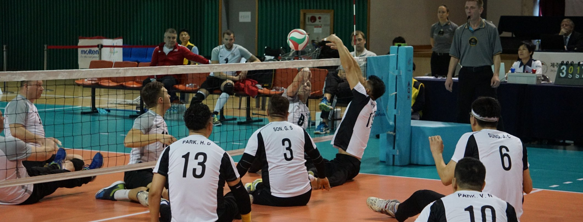 Hosts South Korea secured bronze in the fnial qualifying event for the 2018 Sitting Volleyball World Championships ©World ParaVolley/Facebook
