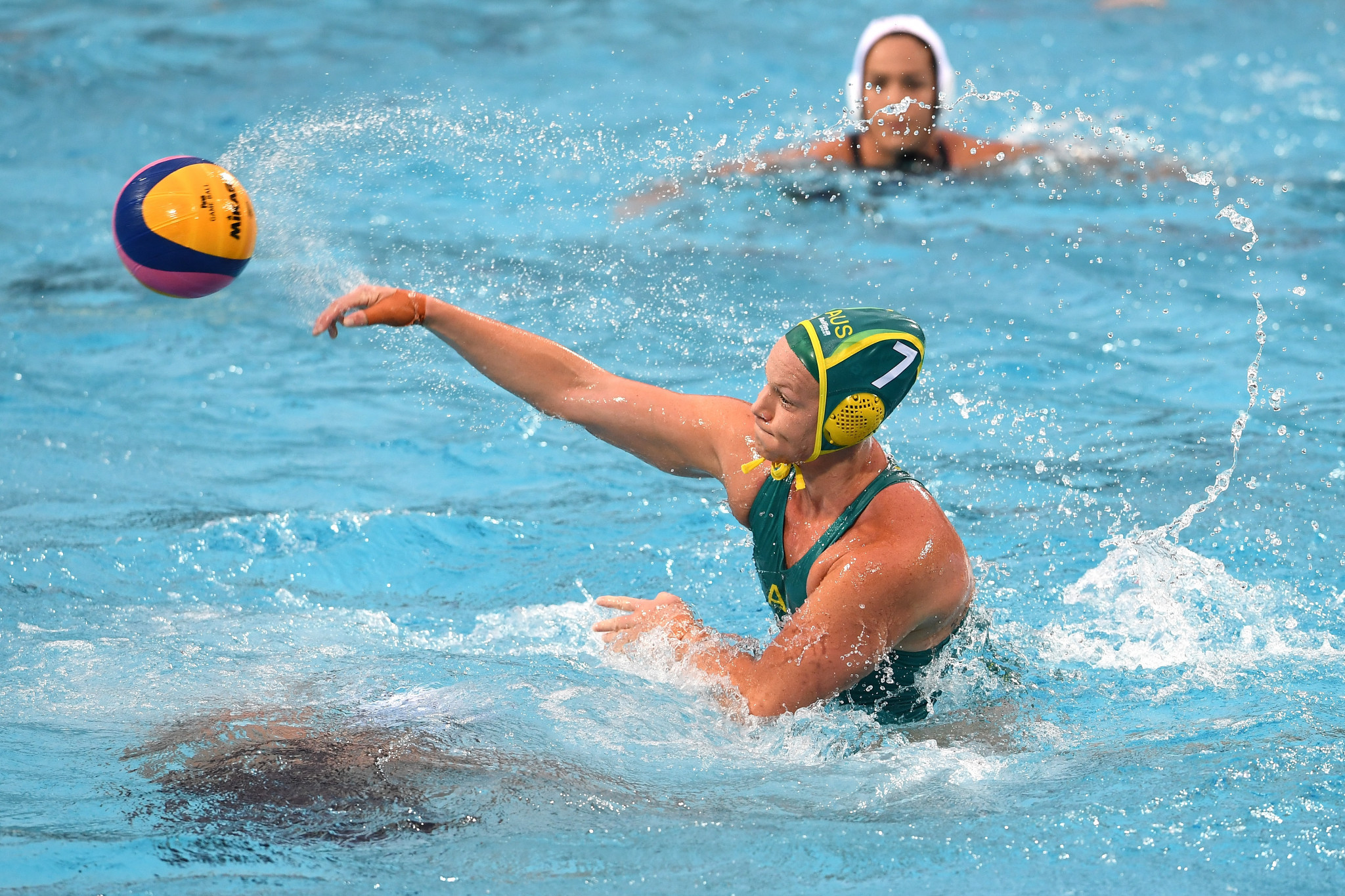 Australia beat the Olympic champions on day one of the Intercontinental Cup in Auckland ©Getty Images