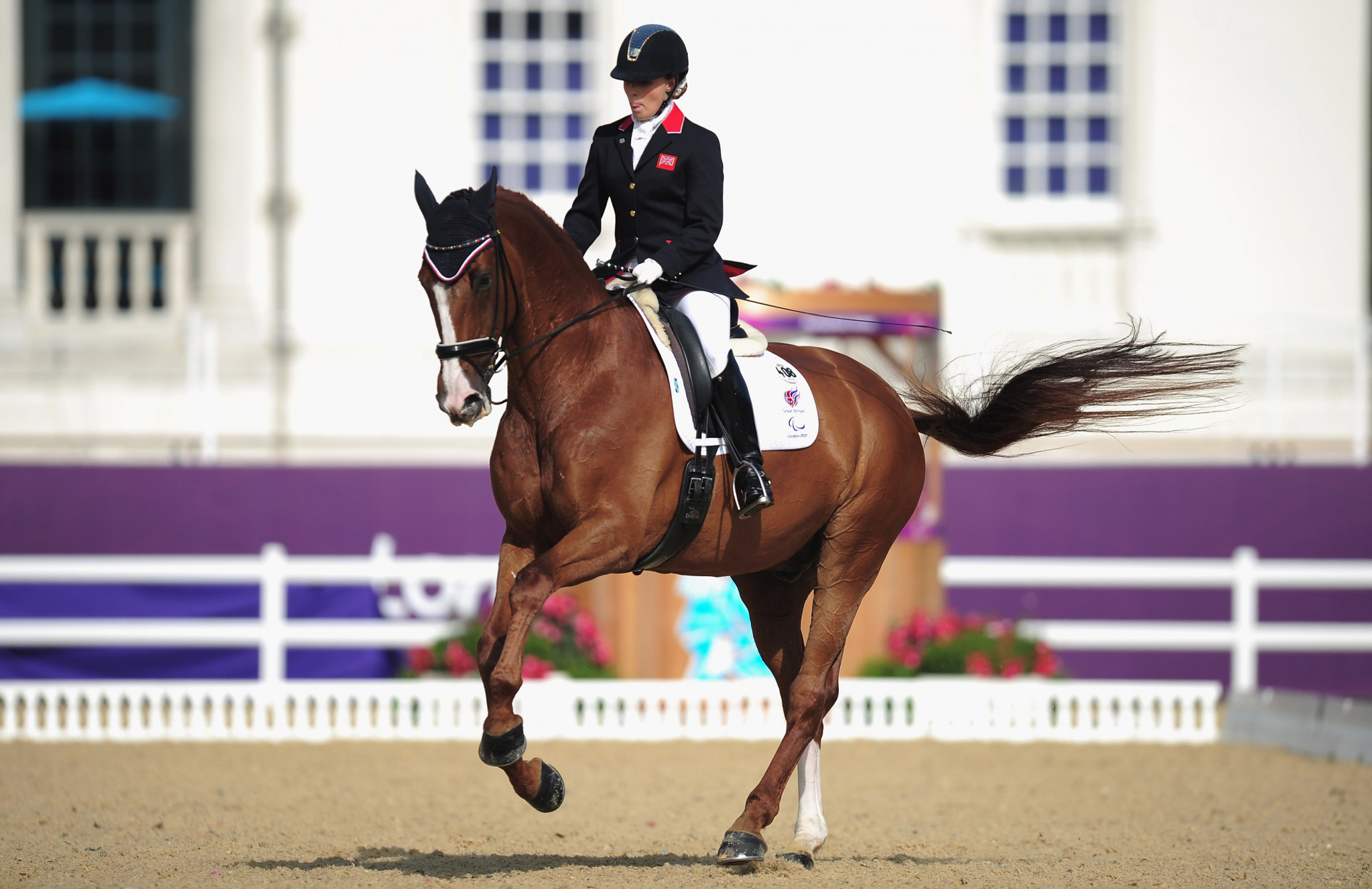Sophie Wells is one of several British Paralympic champions competing this weekend ©Getty Images