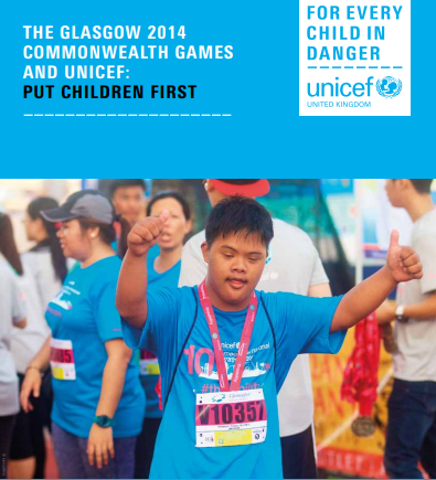 CGF and UNICEF publish report detailing impact of Glasgow 2014 fundraising on 11.7 million children