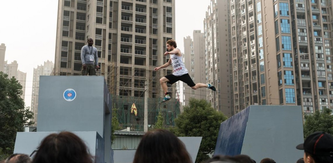 Parkour will feature on the programme for next year's event ©FISE