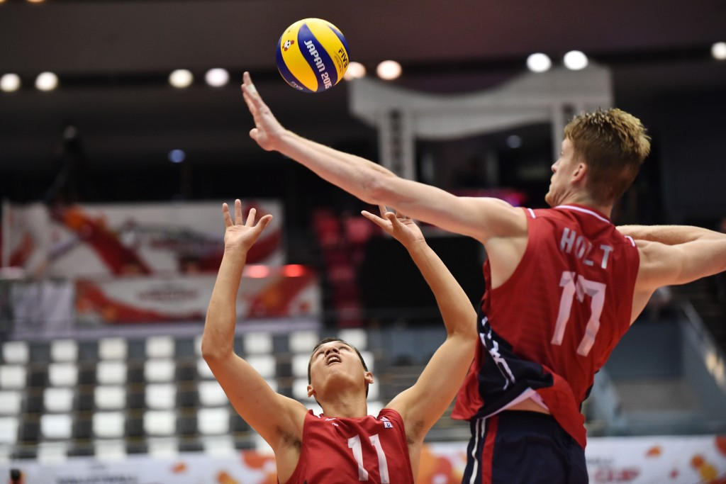 United States claim early lead after day one of FIVB Volleyball Men's World Cup