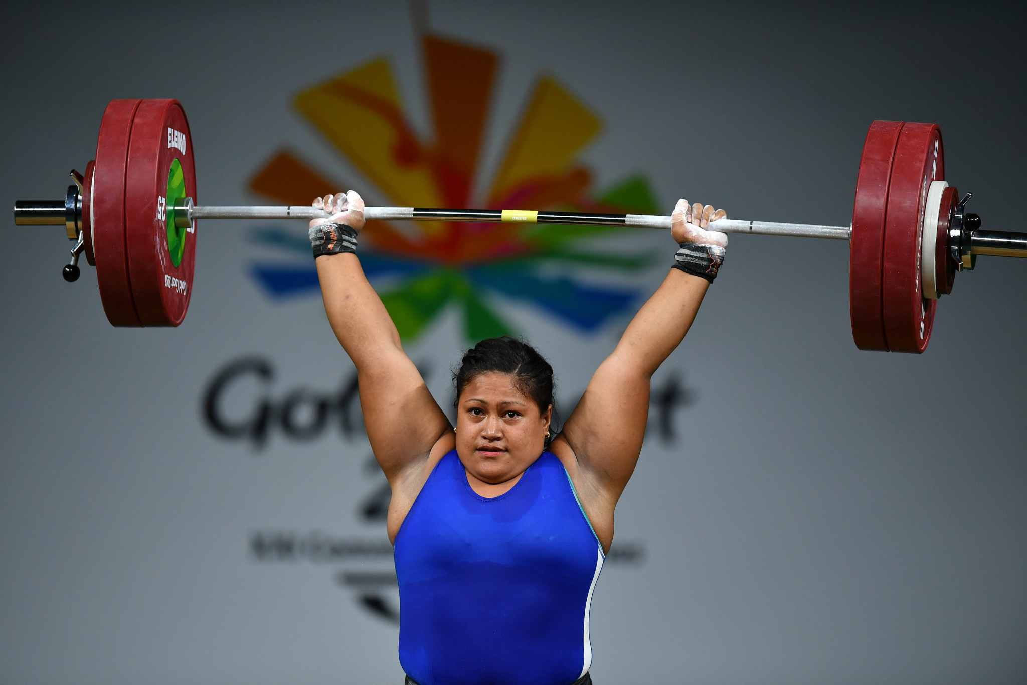 Samoan teenager wins weightlifting gold after transgender athlete Hubbard's withdrawal at Gold Coast 2018