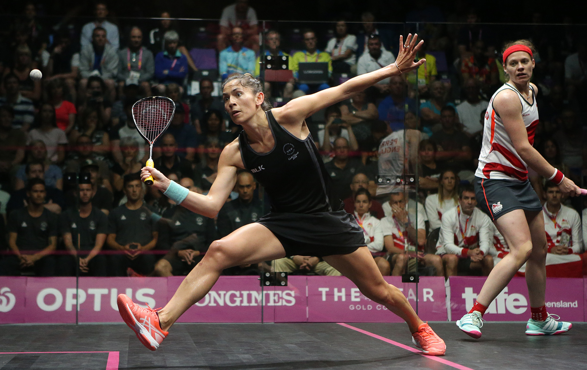 King crowned winner of women's squash singles gold as Willstrop ends wait for men's Commonwealth title