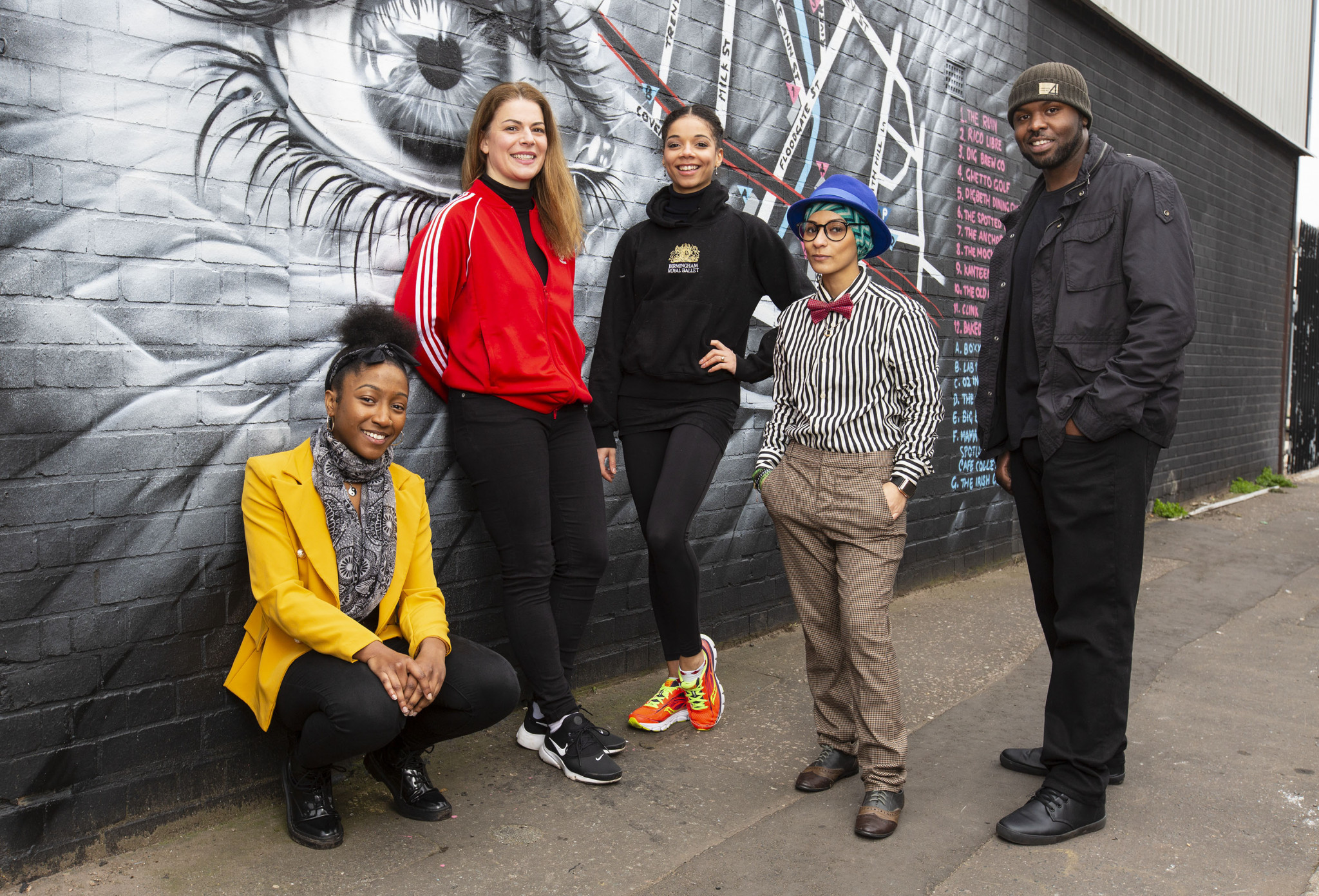 Rap artist Lady Sanity, left, and poet Amerah Saleh, second right, are due to play leading roles in the handover from Gold Coast 2018 to Birmingham 2022 ©Birmingham 2022