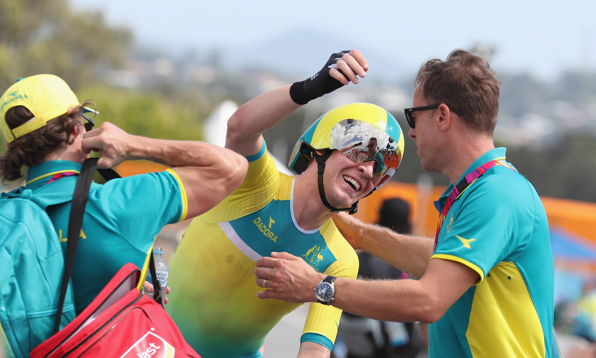 Meyer triumphs in men's individual time trial as Olympic rowing champion secures bronze