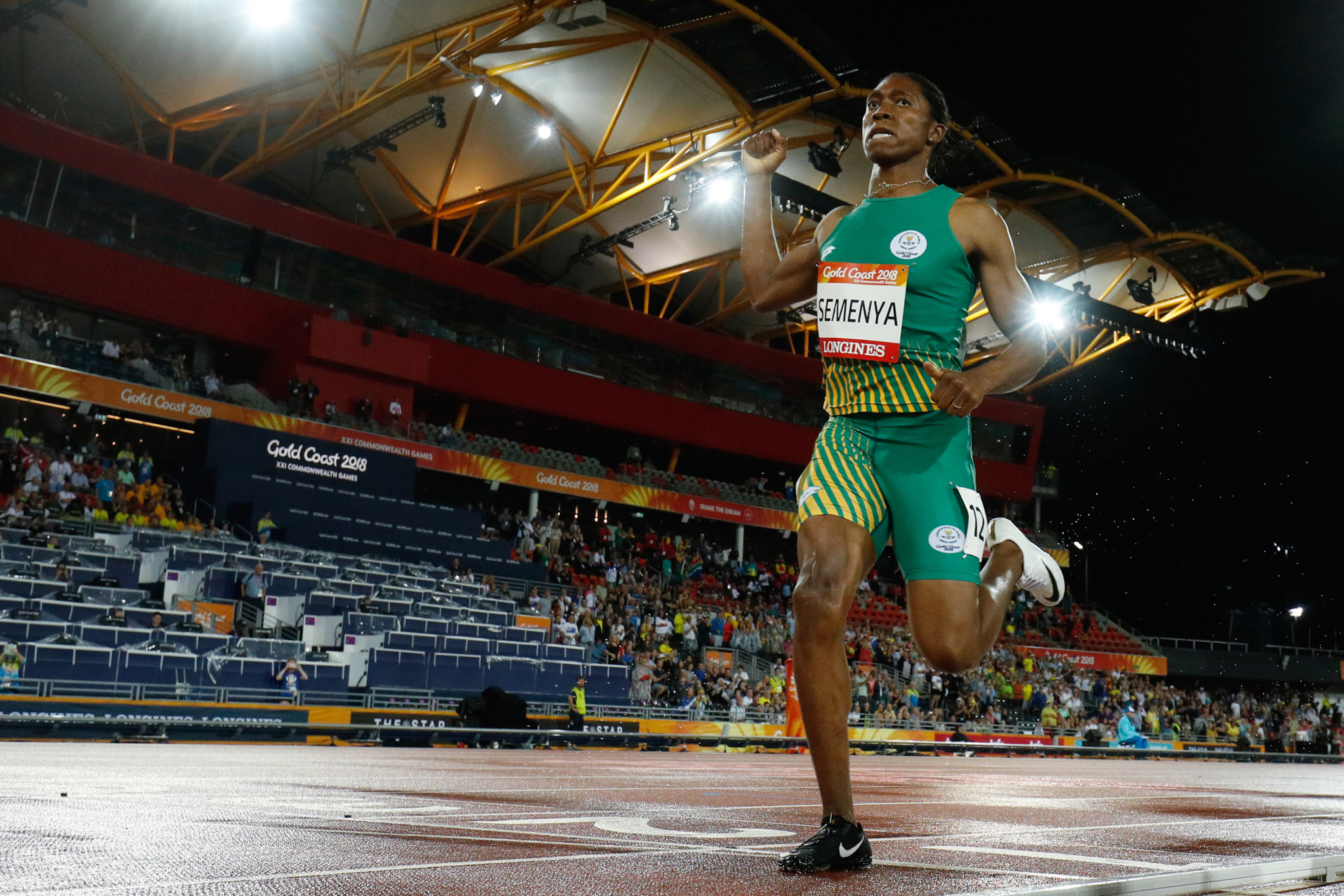 Semenya shatters Budd's 34-year-old South African record to win Commonwealth Games 1500m title