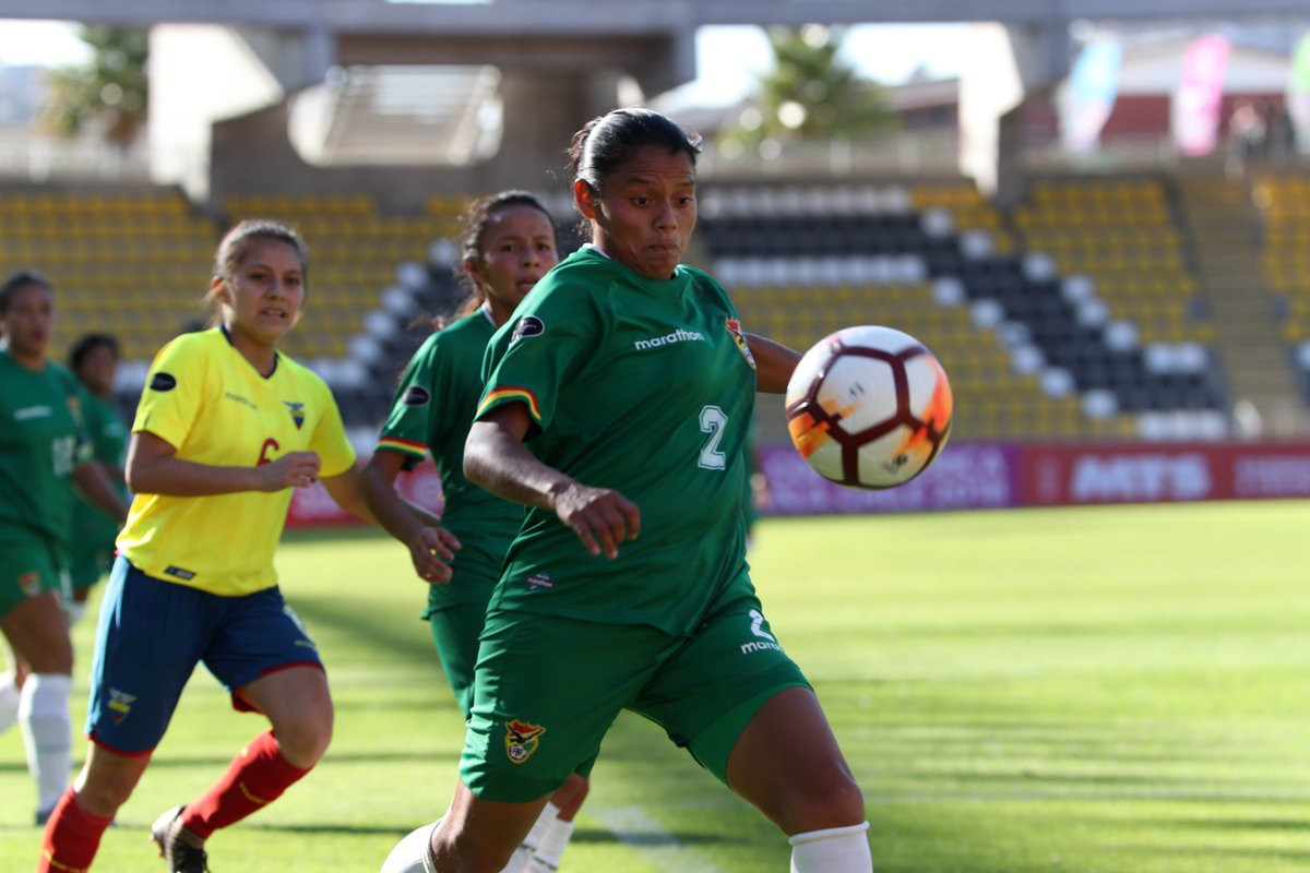 Bolivia edged Ecuador 1-0 to pick up their first win of the tournament ©Copa América Femenina Chile 2018/Twitter