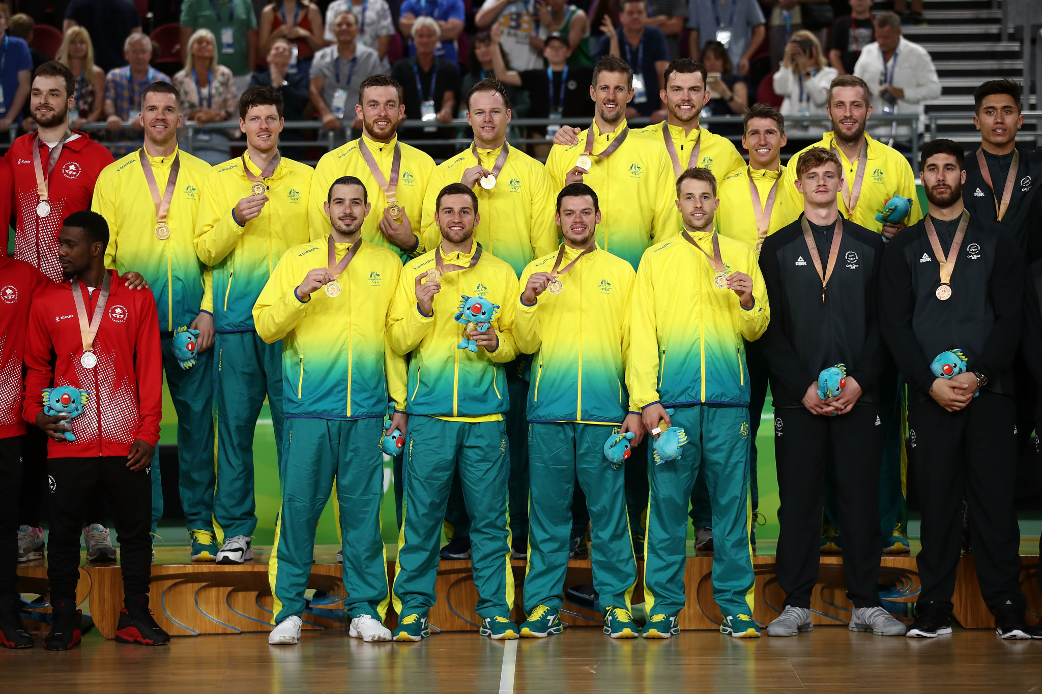 Australia clinch men's basketball gold by overcoming Canada