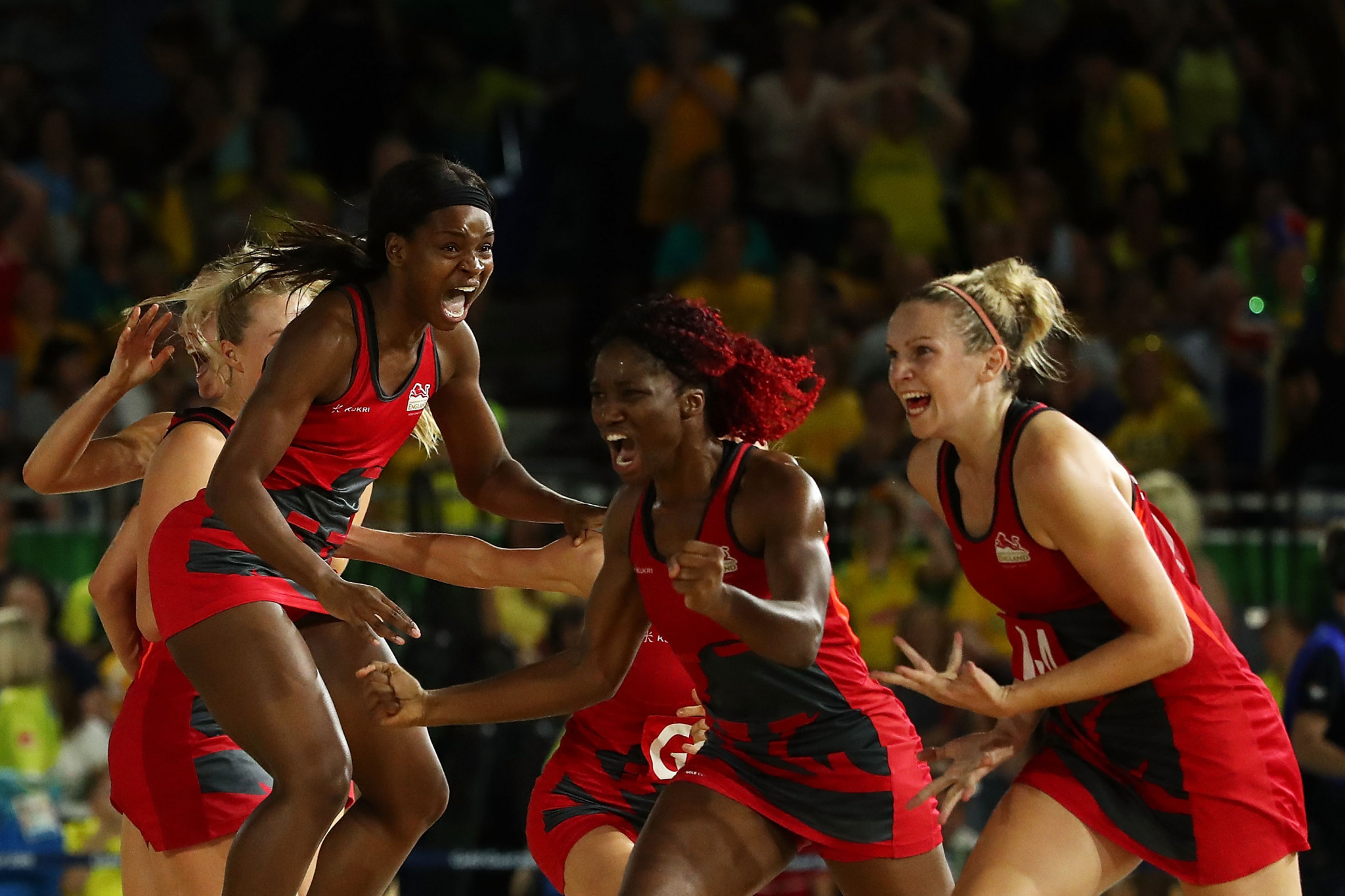 Housby scores late winner as England stun Australia to claim first Commonwealth Games netball gold medal
