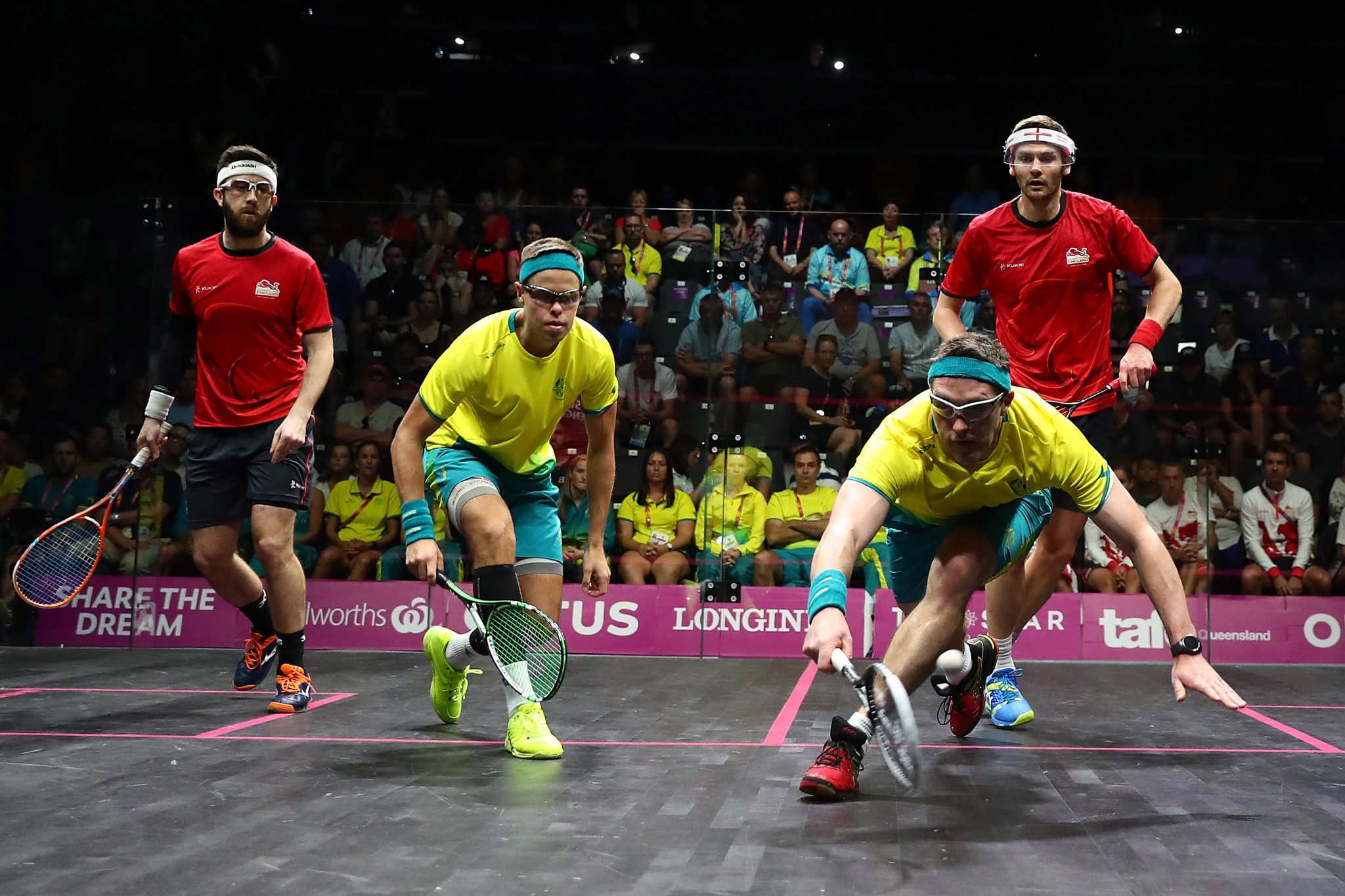 Palmer justifies decision to come out of retirement with men's doubles triumph at Gold Coast 2018