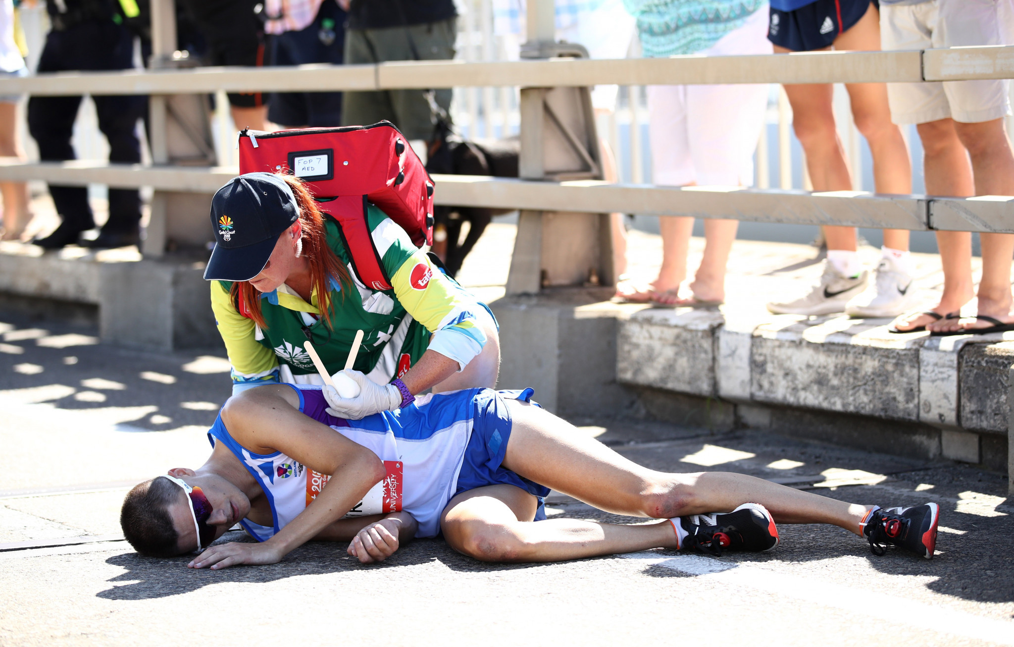 Hawkins discharged from hospital following collapse in Commonwealth Games marathon