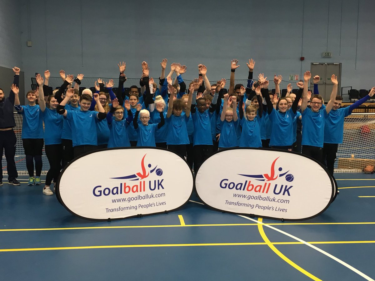 Goalball UK plan to use the grant from Children in Need to offer school goalball activities and competitive opportunities to blind, partially sighted and disadvantaged children and young people ©Goalball UK