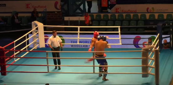Brazilian kickboxer stripped of World Games gold after testing positive for four banned substances