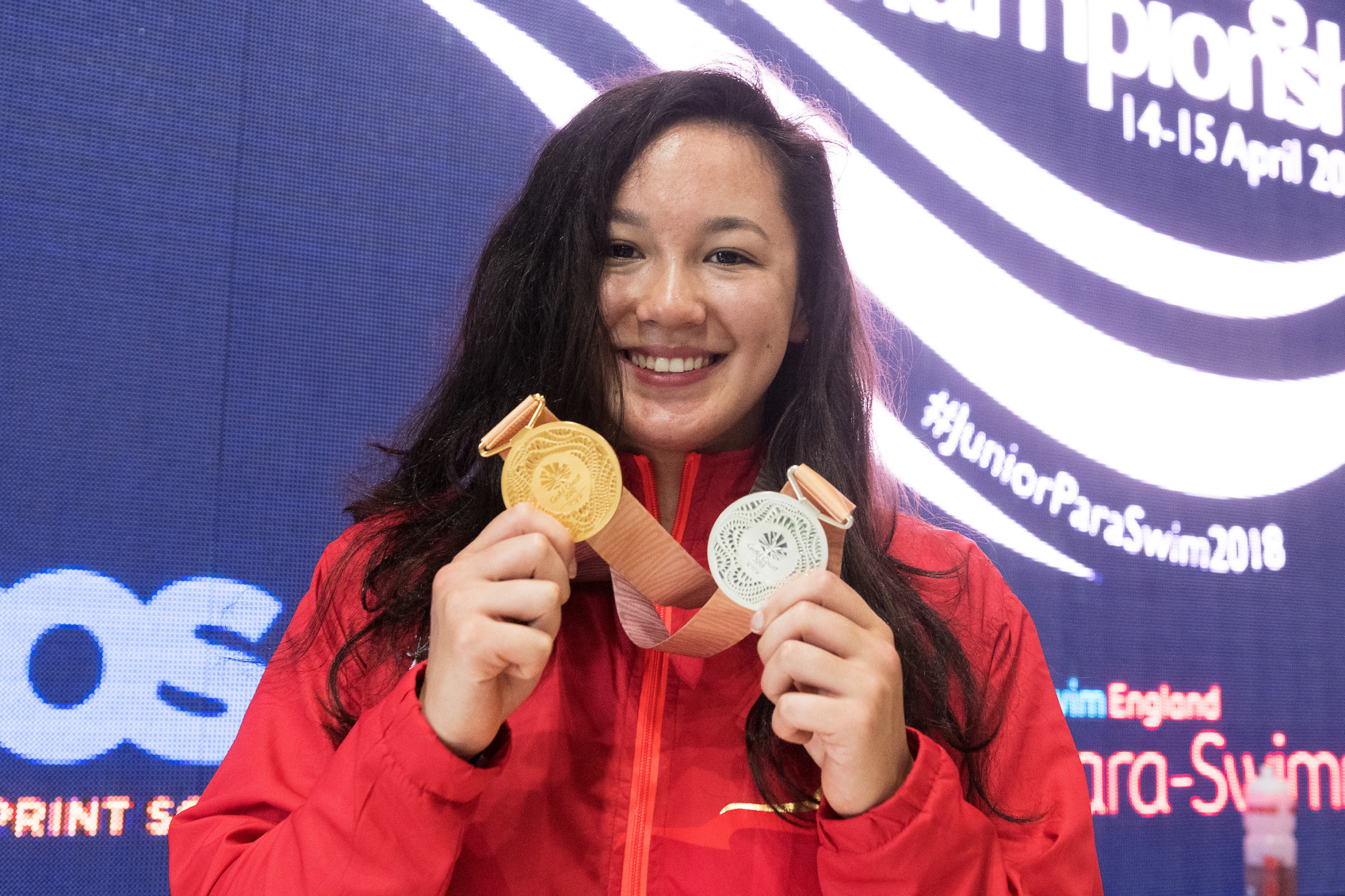 Double Gold Coast 2018 medallist attends National Junior Para-Swimming Championships in Southampton