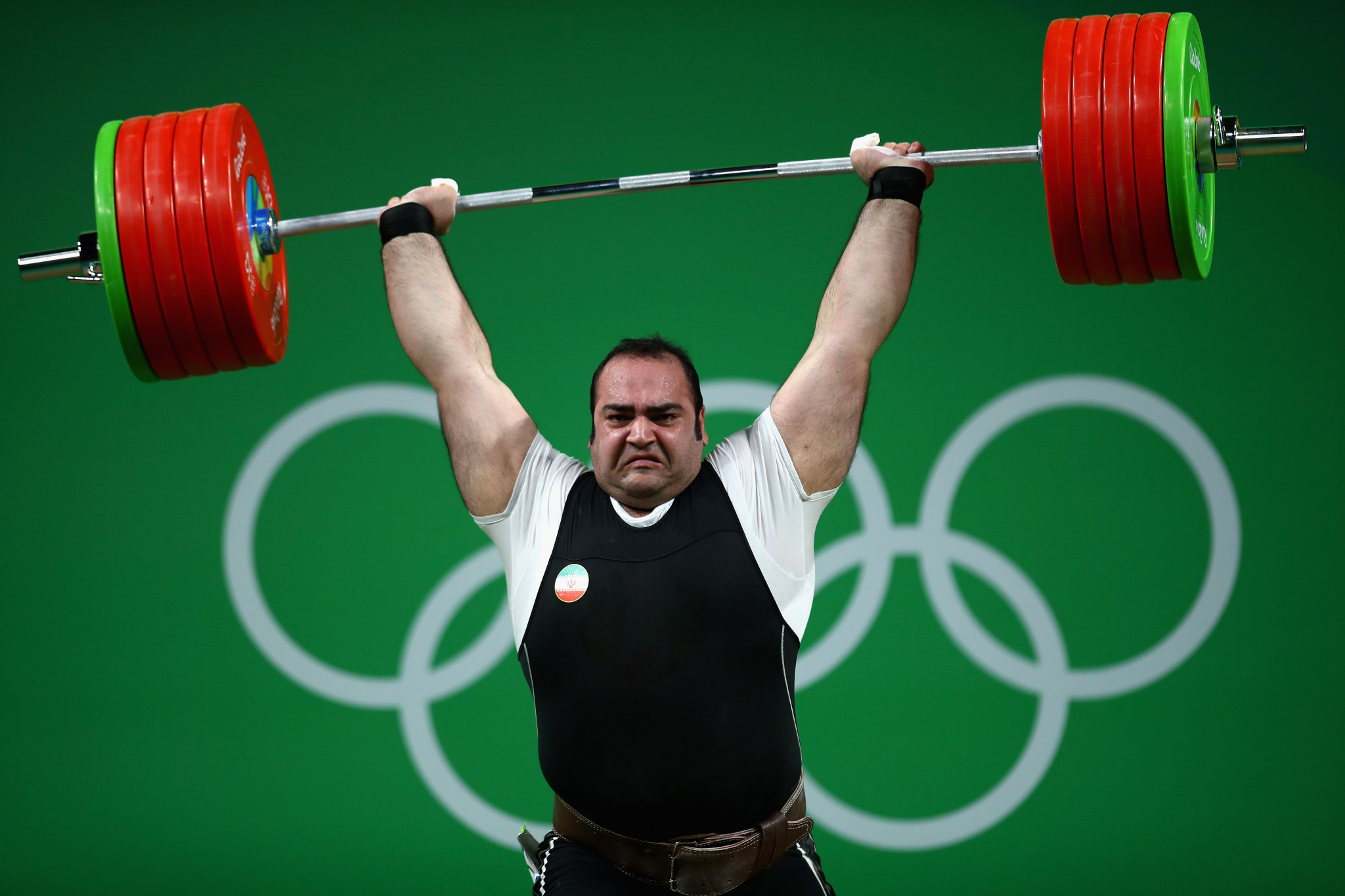 London 2012 Olympic gold medallist Behdad Salimi is one of Iran's star weightlifters ©Getty Images