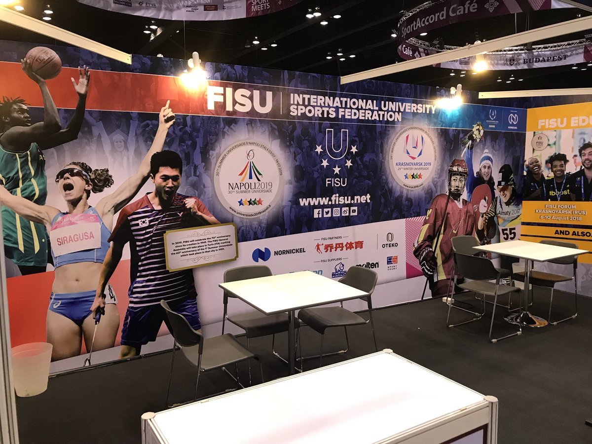 ARISF elect International University Sports Federation as new member in effort to strengthen educational links