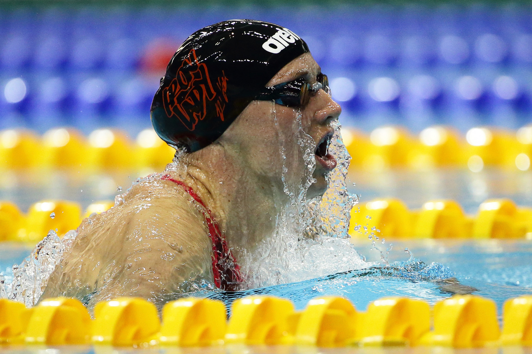 Three-time Olympic champion Katinka Hosszú was among those to pressure Tamas Gyarfas to resign as Hungarian Swimming Federation President ©Getty Images