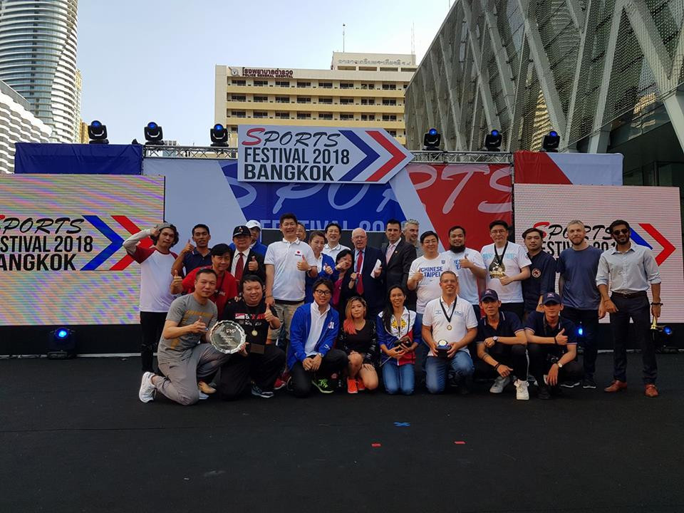 The IFMP Asian Pairs Challenge was a feature of Sports Festival 2018 ©ITG