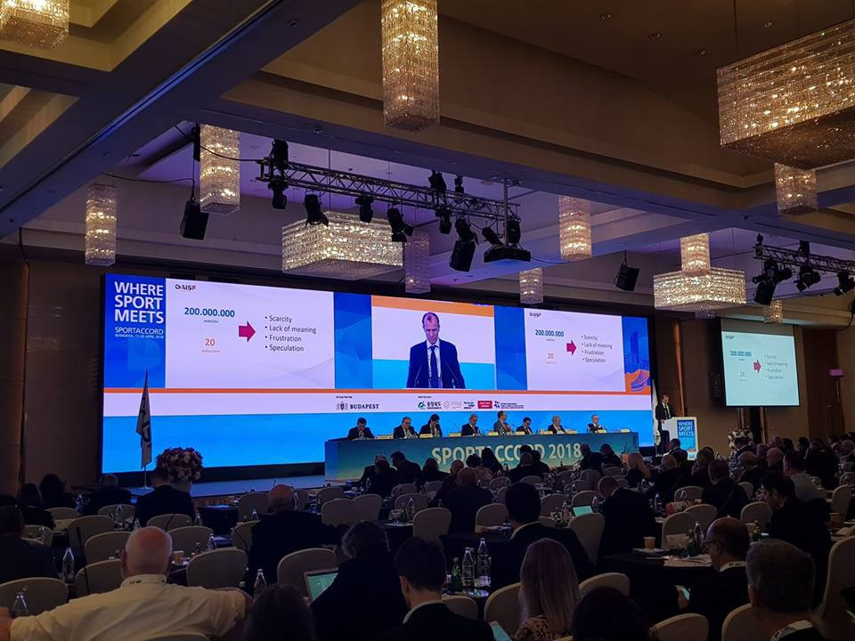 SportAccord Summit: GAISF General Assembly