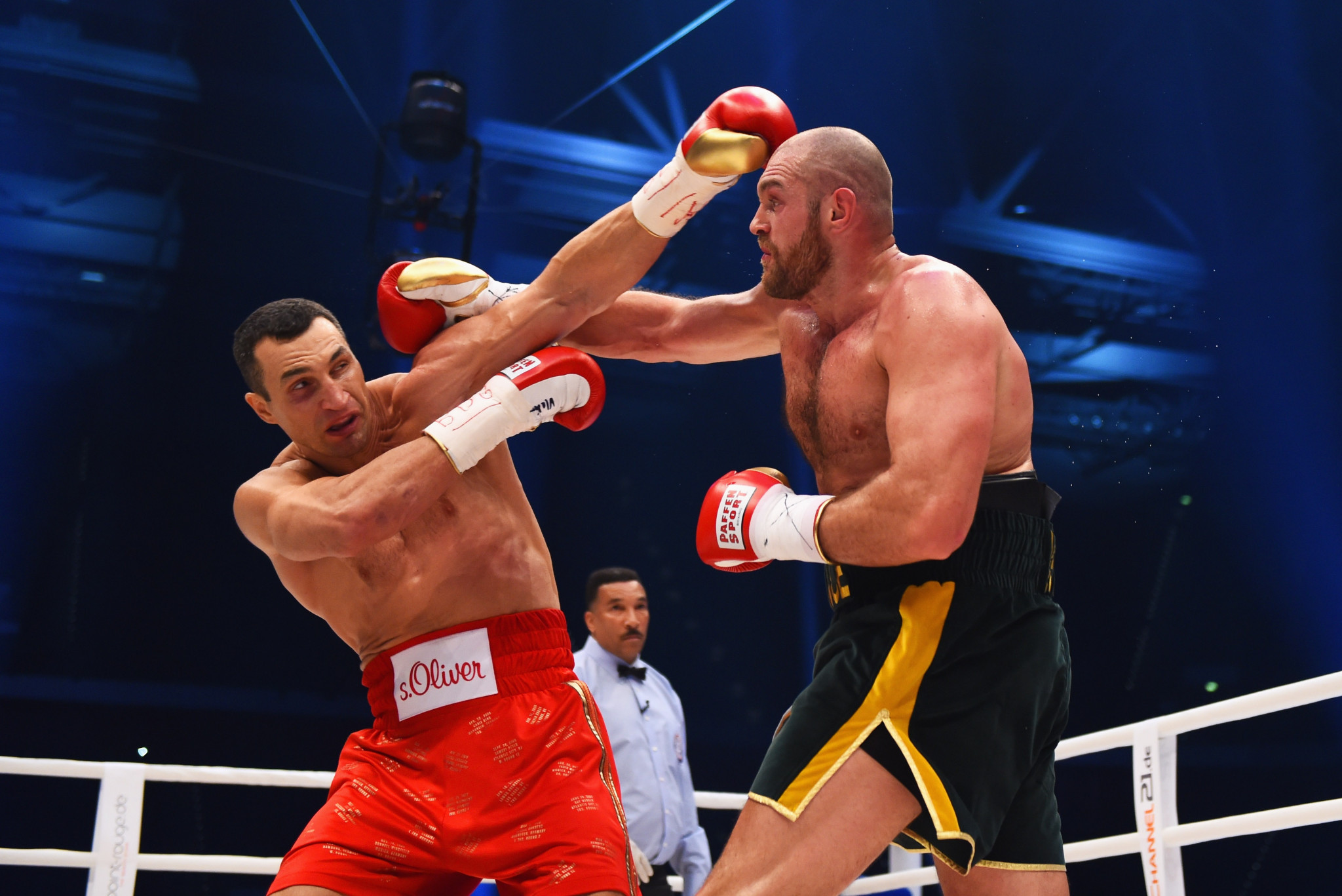 Tyson Fury has not fought since beating Wladimir Klitschko in a world title fight in November 2015 ©Getty Images