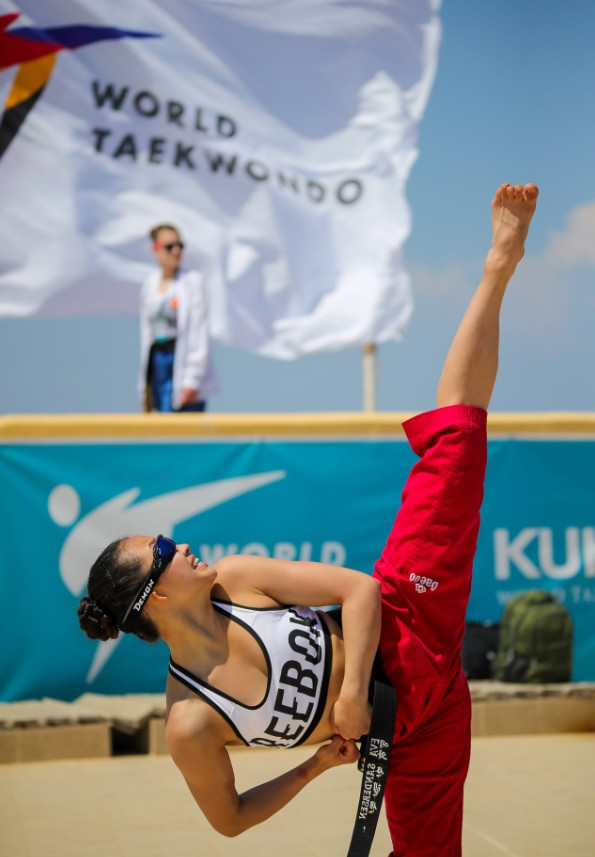 This is the second edition of the World Beach Taekwondo Championships in Rhodes ©World Taekwondo