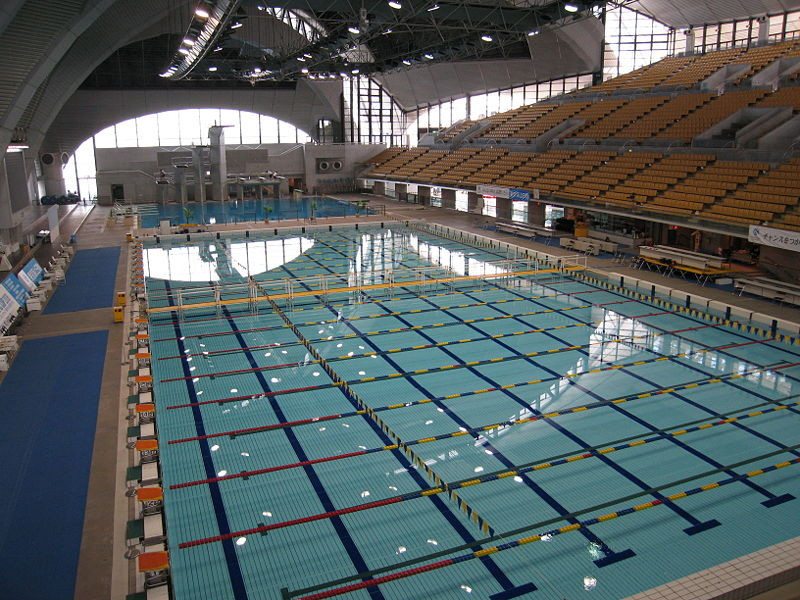 Competition will take place at the Tokyo Tatsumi International Swimming Center ©Wikipedia