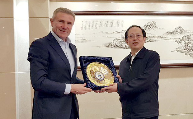 Ukrainian and Chinese Olympic Committee Presidents meet to discuss Beijing 2022