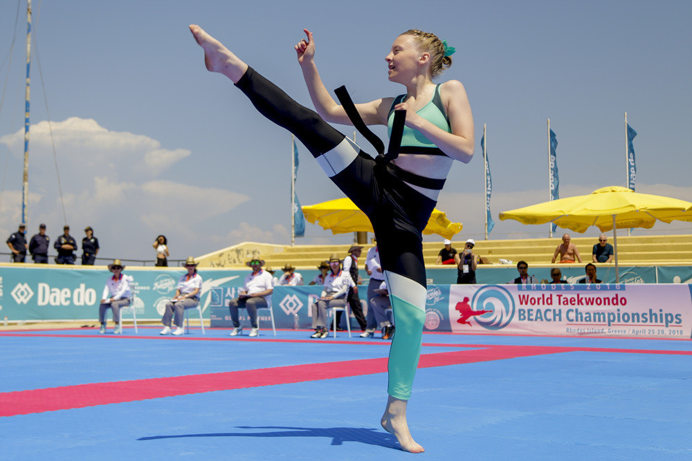 The event is being broadcast live on the Olympic Channel ©World Taekwondo