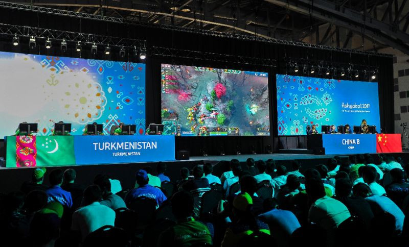 Esports appeared as a demonstration sport at the Asian Indoor and Martial Arts Games in Ashgabat ©Twitter